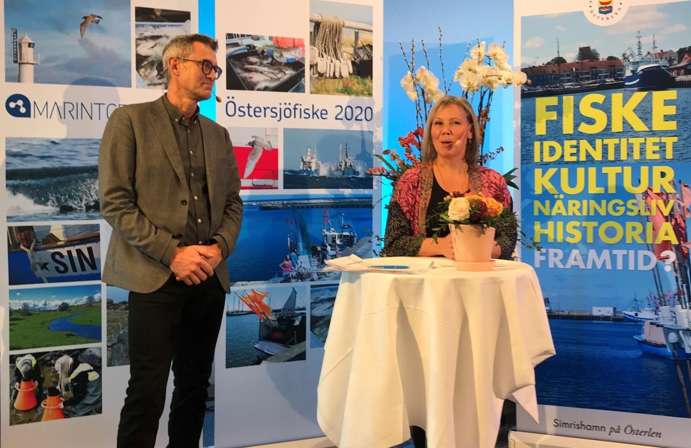 Jeanette Ovesson och Johan Wangnström