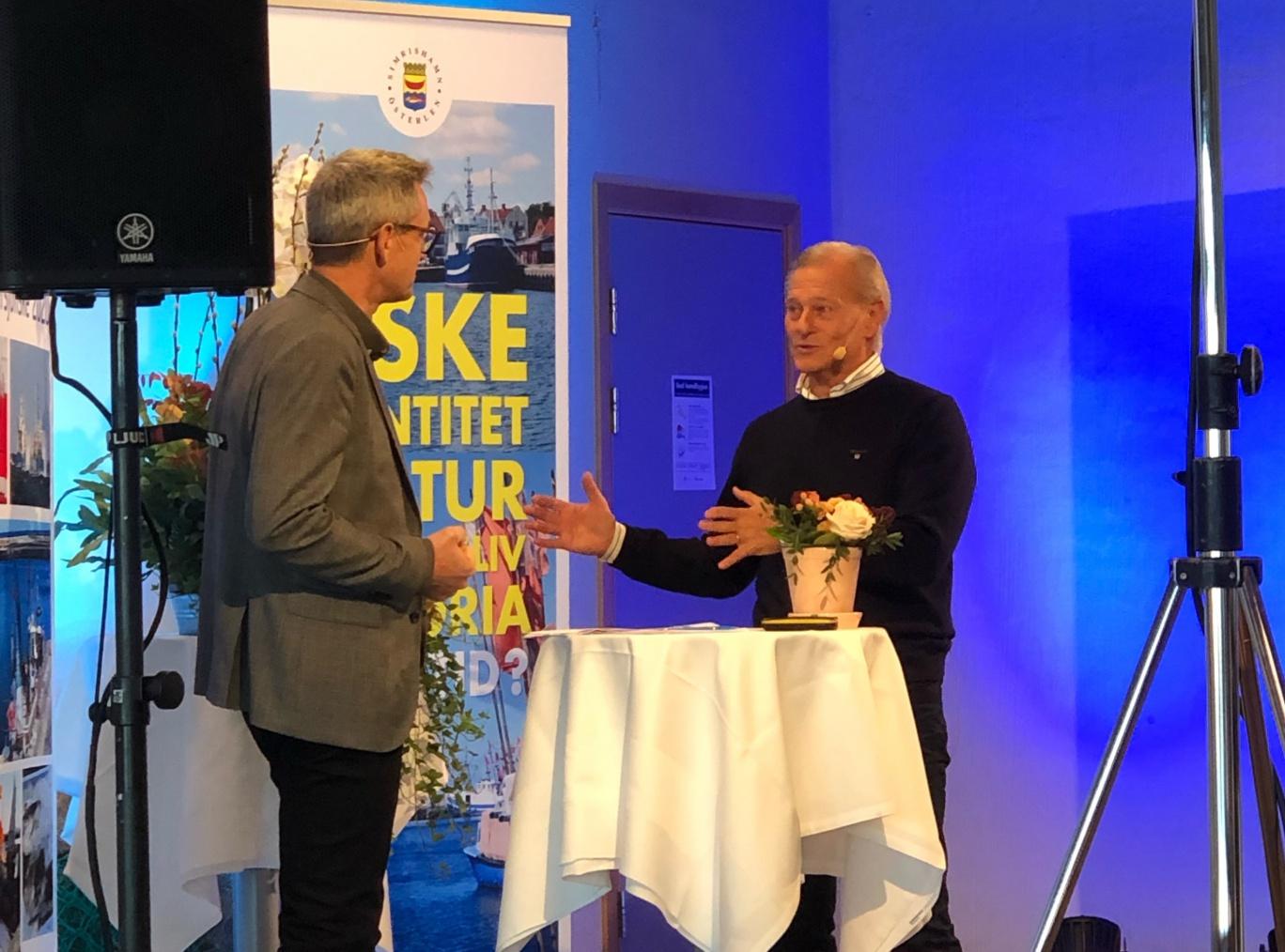 Tom Ekström och Johan Wangnström